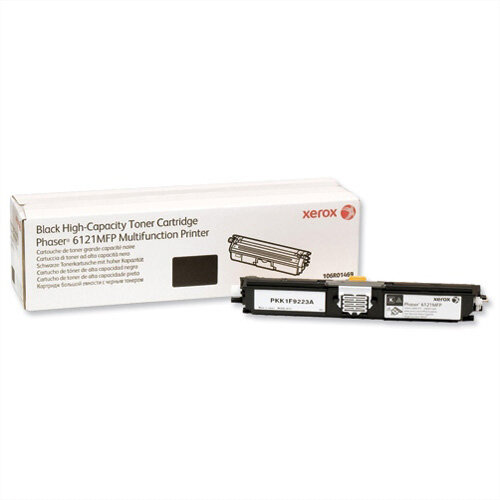 Xerox Laser Toner Cartridge High Yield Page Life 2600 Black Ref 106R01469