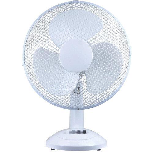 Desk Fan Oscillating Tilt and Lock H630mm Dia.406mm 5 Star