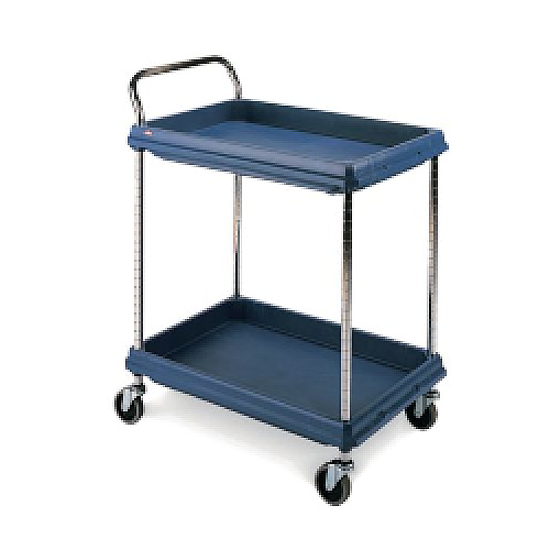Deep Ledge Trolley Microban 2 Tier H1041 x W832 x D546mm (Pack of 1) 360966