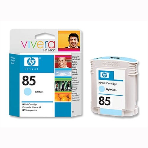 HP 85 Light Cyan Inkjet Cartridge C9428A