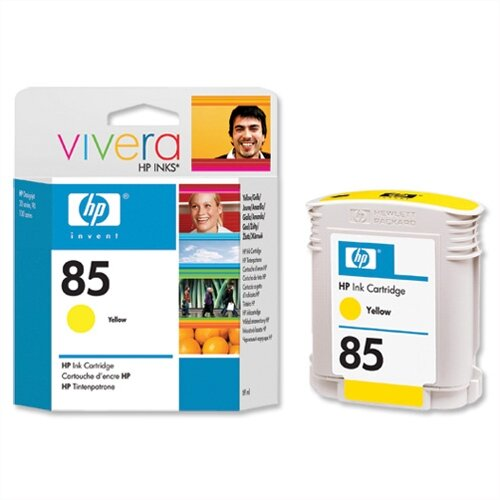 HP 85 Yellow Inkjet Cartridge C9427A