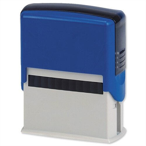 5 Star Custom 4 Lines Self-Inking Imprinter Stamp 40x15mm