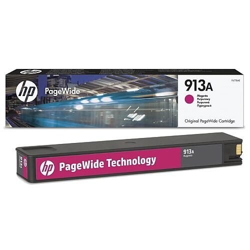 HP 913A Magenta PageWide Ink Cartridge F6T78AE