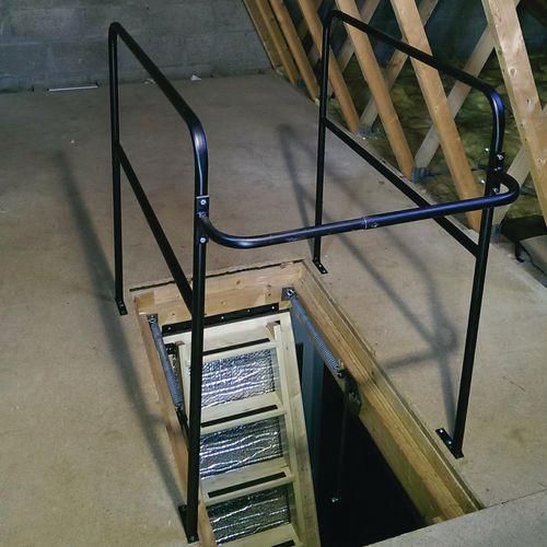 Loft Ladder Opening Ballustrade Height 1m