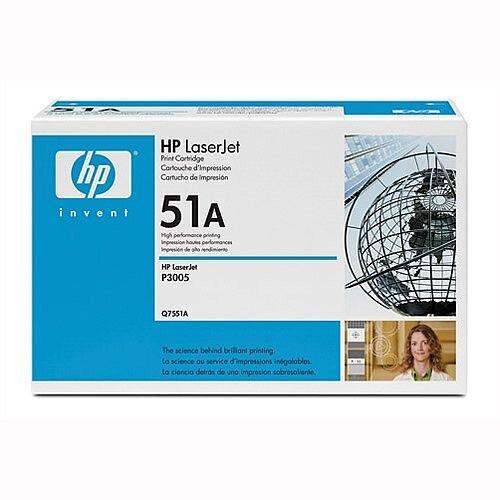 Genuine HP 51A Black LaserJet Toner Cartridge HP Q7551A