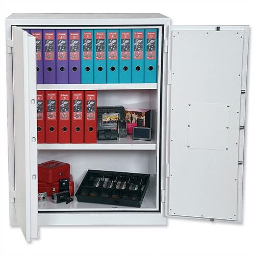 Phoenix Fire Ranger FS1512K Size 2 Fire Safe with Key Lock White 359L 30min Fire Protection