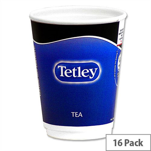 Nescafe &Go Tetley Tea Foil-sealed Cup for Drinks Machine Ref 12154583 [Pack 16]