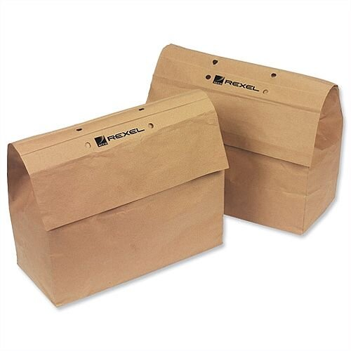 Rexel Recyclable Shredder Sack for Mercury Shredders 70L (Pack 50)