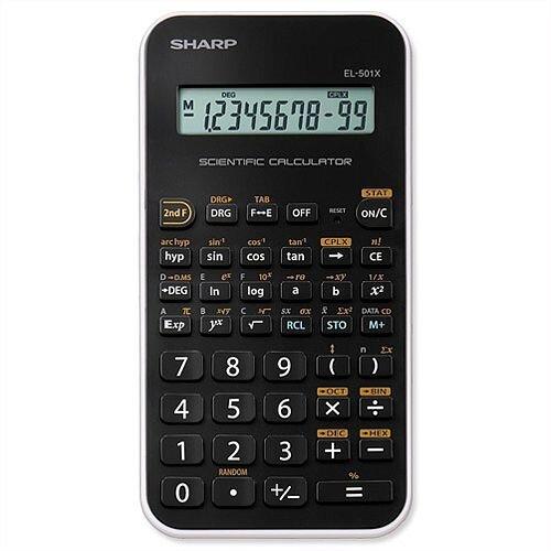 Sharp EL-501X Scientific Black Calculator