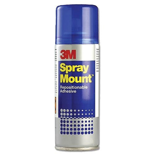 3M Spray Mount Adhesive Spray Can 400ml SMOUNT