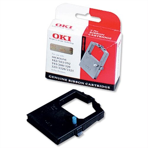 OKI 09002315 Printer Ribbon Cassette Black for 520
