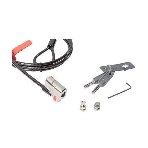 Kensington Clicksafe Keyed Twin Lock - Security cable