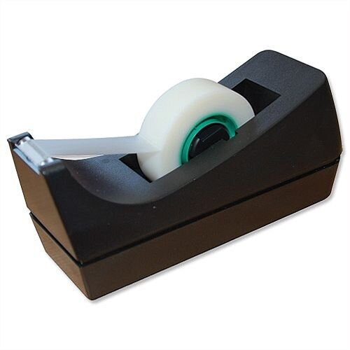 Tape Dispenser For Rolls Up To 33m x 19mm Black 5 Star