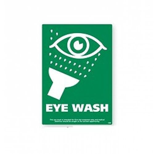 Eye Wash A4 Rigid Sign 21x29.7cm 4255003