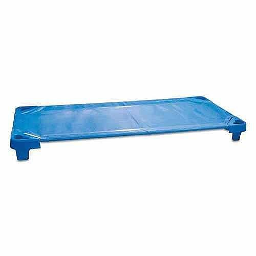 Blue Stackable Beds for Creches