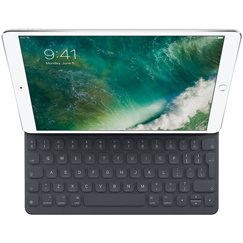 Apple Smart - computer keyboard and folio case - English International for 10.5-inch iPad Pro