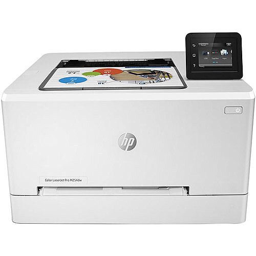 HP Color LaserJet Pro M254dw - Printer - colour - Duplex - laser - A4/Legal - 600 x 600 dpi - up to 21 ppm (mono) / up to 21 ppm (colour) - capacity: 250 sheets - USB 2.0, LAN, Wi-Fi(n), USB host