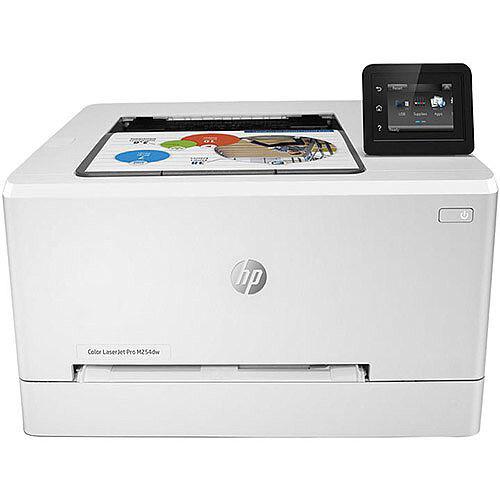 HP Color LaserJet Pro M254dw - Printer - colour - Duplex - laser - A4/Legal - 600 x 600 dpi - up to 21 ppm (mono) / up to 21 ppm (colour) - capacity: 250 sheets - USB 2.0, LAN, Wi-Fi(n), USB host