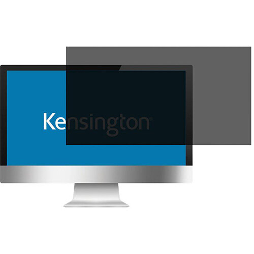 "Kensington Screen Privacy Filter 2 Way Removable 55.8cm 22"" Wide 16:10 Ref. 626483"