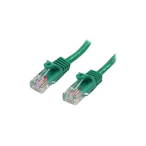 StarTech 5m Green Cat5e Patch Cable with Snagless RJ45 Connectors Long Ethernet Cable 5 m 45PAT5MGN