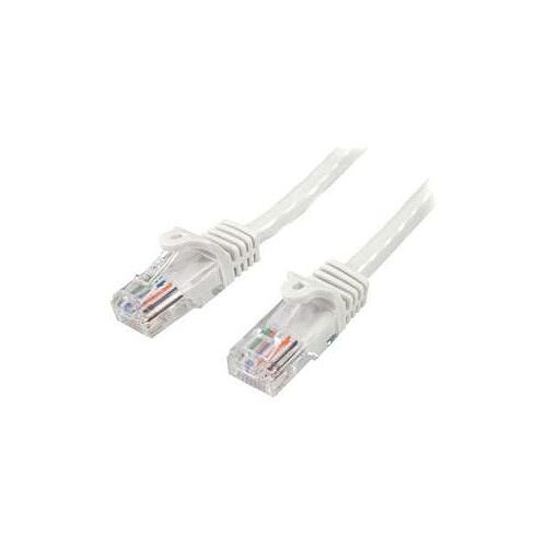 StarTech 7m White Cat5e Patch Cable with Snagless RJ45 Connectors Long Ethernet Cable 7 m 45PAT7MWH