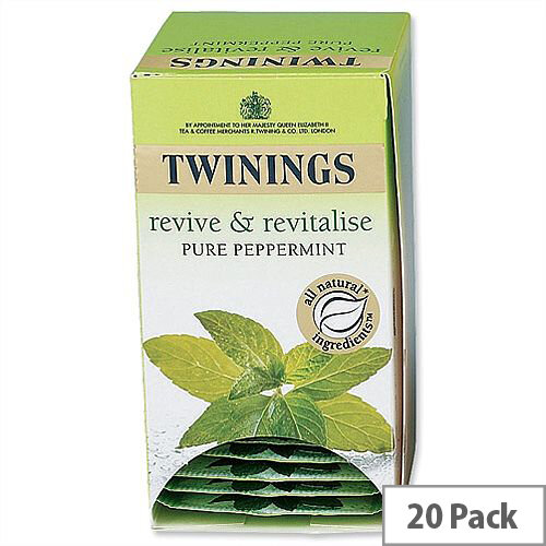 Twinings Infusion Tea Bags Peppermint Pack 20