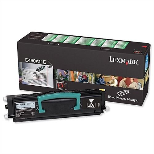 Lexmark E450A11E Black Toner for Lexmark E450