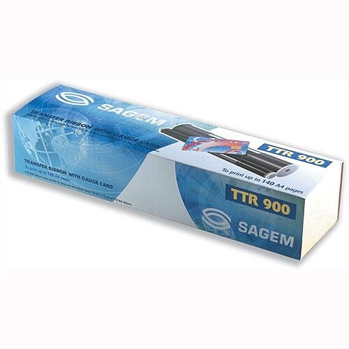Sagem TTR900 Fax Ribbon Black for Machines 330 350 410 420 2420 2325