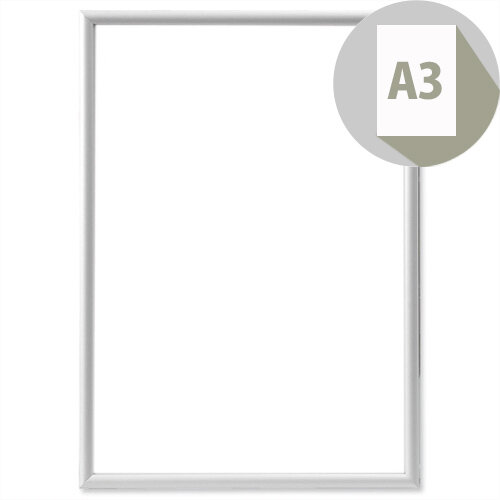 Aluframe Clip-in with Clear Styrene Front A3 Photo Album Company