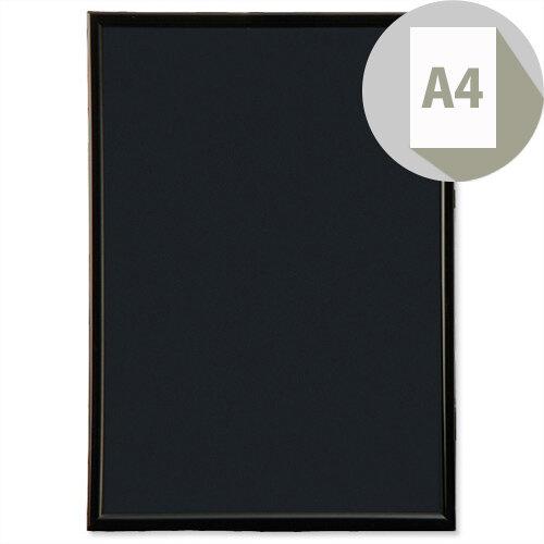 Photo Album Company Fast Frame A4 Back-loading Front Non-glass Styrene Front, Black Hardboard Back, For Landscape &Portrait Displays