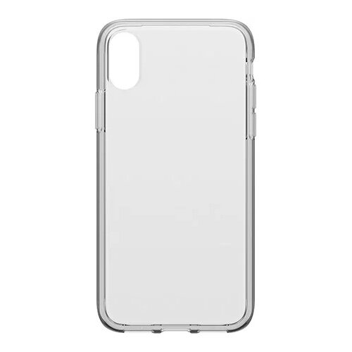 OtterBox Clearly Protected Skin - Back cover for mobile phone - clear - with Alpha Glass screen protector - for Apple iPhone X, XS