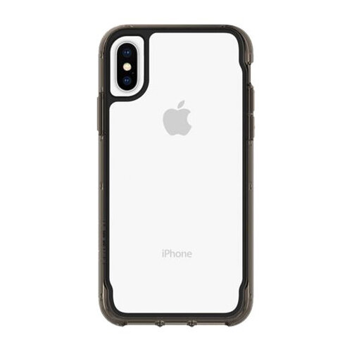 Griffin Survivor Clear - Black/Clear back cover for mobile phone Apple iPhone X,XS