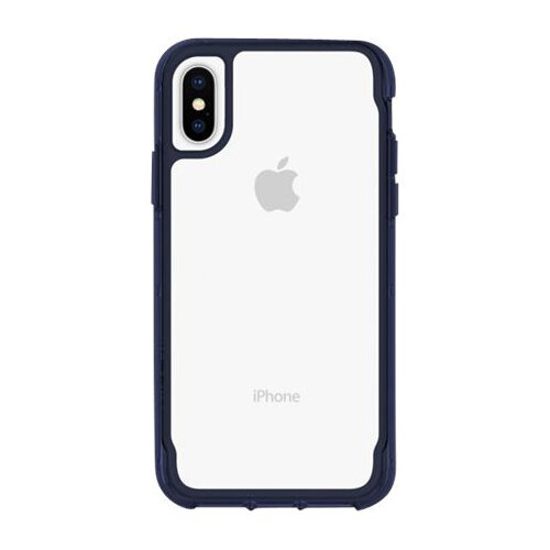 Griffin Survivor Clear - Clear back cover for mobile phone Apple iPhone XS