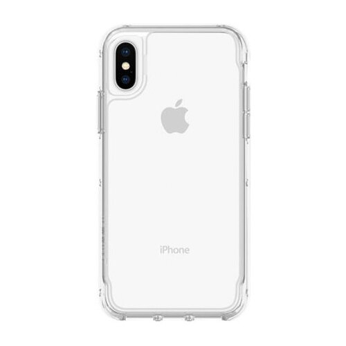 Griffin Survivor Clear - Clear back cover for mobile phone Apple iPhone X,XS