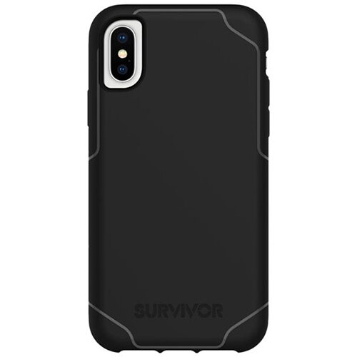 Griffin Survivor Strong - Black back cover for mobile phone Apple iPhone X/XS