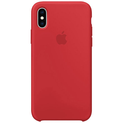 Apple - Red back cover for mobile phone Apple iPhone XS