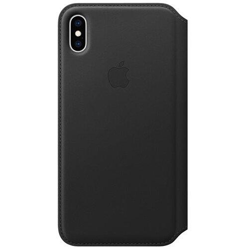 Apple Folio - Black flip cover for iPhone XS Max