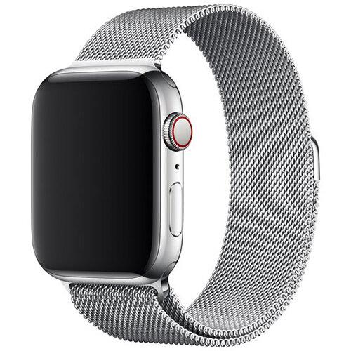 Apple 44mm Milanese Loop - watch strap silver