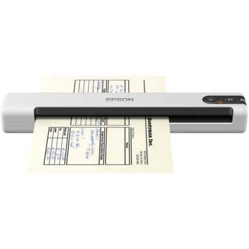 Epson WorkForce DS-70 - Sheetfed Scanner - Portable - USB 2.0 ; 3-colour RGB LED  ; 600 dpi x 600 dpi  ; 300 scans per day