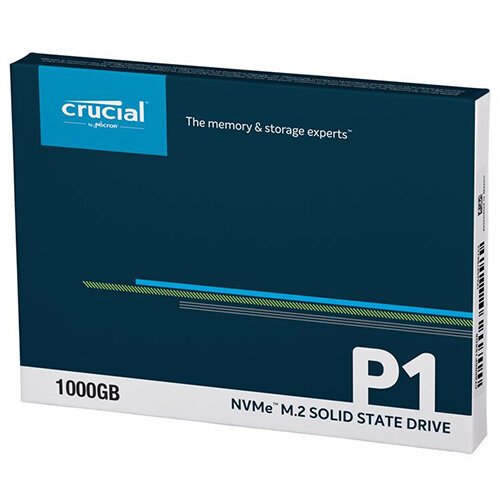 Crucial P1 - solid state drive - 1 TB - PCI Express 3.0 x4 (NVMe)