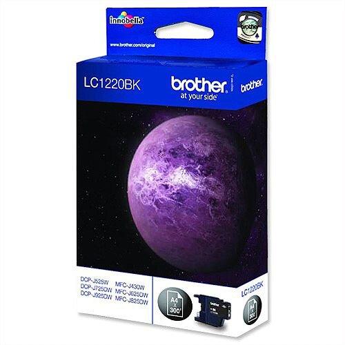 Brother LC1220BK Black Inkjet Cartridge