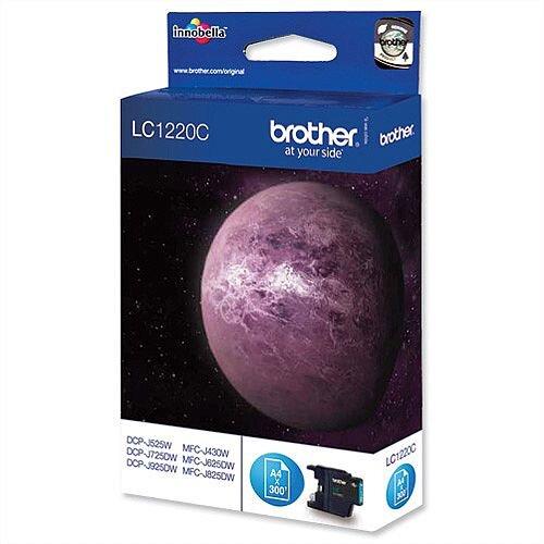 Brother LC1220C Cyan Inkjet Cartridge