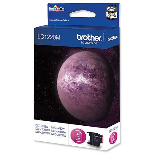 Brother LC1220M Magenta Inkjet Cartridge