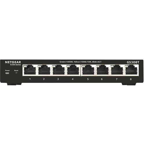 NETGEAR Pro GS308T - switch - 8 ports - smart