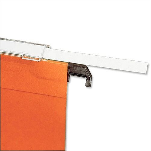 Card Inserts for Bantex Linking Suspension File Tabs 32620 Pack 10x25