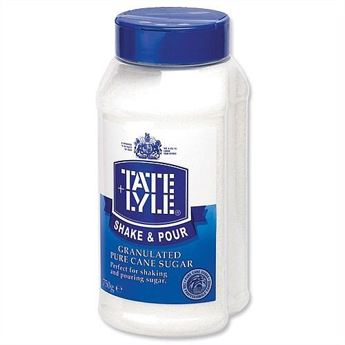 Tate &Lyle White Sugar 750g Shake &Pour Dispenser KTPTLSS