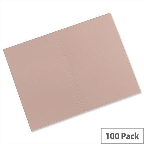 Guildhall Manilla Square Cut Folders Foolscap Buff FS315 Pack 100