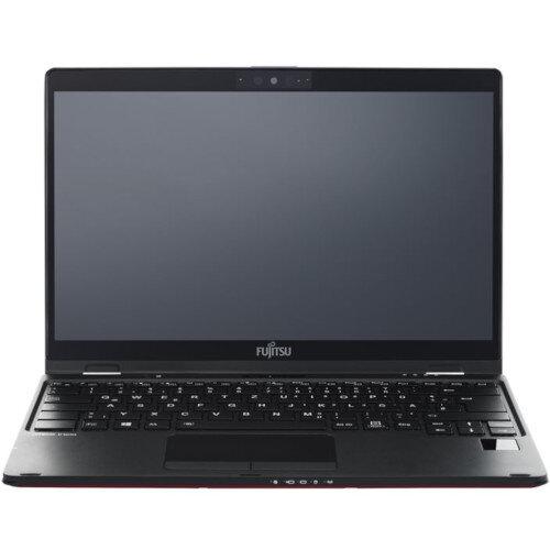 Fujitsu LIFEBOOK U939x - Flip design - Core i7 8665U / 1.9 GHz - Win 10 Pro 64-bit - 16 GB RAM - 512 GB SSD SED, TCG Opal Encryption, NVMe - 13.3&uot; touchscreen 1920 x 1080 (Full HD) - UHD Graphics 620 - Wi-Fi, Bluetooth - 4G - black