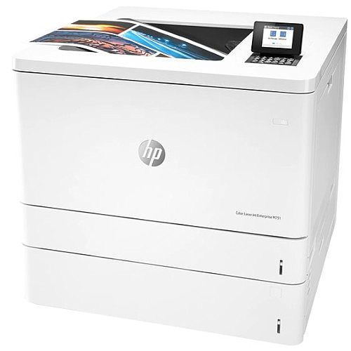 HP LaserJet Enterprise M751dn Colour Duplex Laser Printer - Media Size Up To A3 - Resolution 600x600dpi - Speed: up to 41ppm - Capacity: 650 Sheets - Gigabit LAN - Colour: White