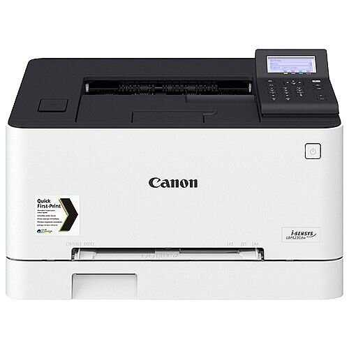 Canon i-SENSYS LBP623Cdw - Printer - colour - Duplex - laser - A4/Legal - 1200 x 1200 dpi - up to 21 ppm (mono) / up to 21 ppm (colour) - capacity: 250 sheets - USB 2.0, Gigabit LAN, Wi-Fi(n), USB host